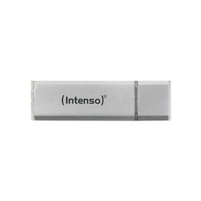 CHIAVETTA USB 3.0 FLASHDRIVE INTENSO ULTRA LINE 64GB SILVER