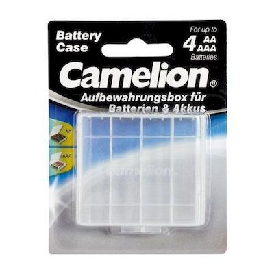 BATTERY STORAGE CASE FOR AA/AAA BATTERIES CAMELION