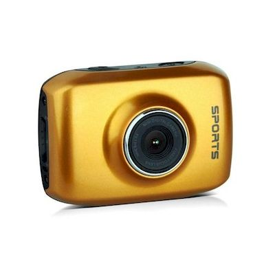 SPORT CAM ACTION CAMERA CAMCORDER REEKIN ORANGE - REEKIN