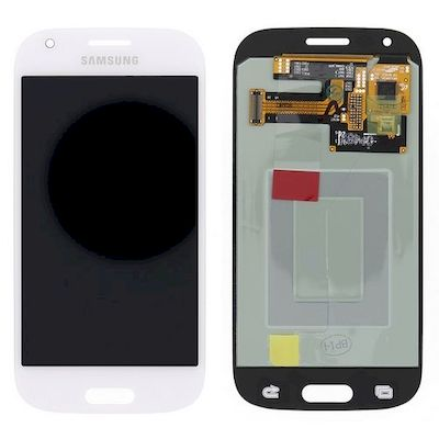 LCD TOUCH SCREEN E VETRO COMPLETO BIANCO PER SAMSUNG GALAXY ACE 4 G357