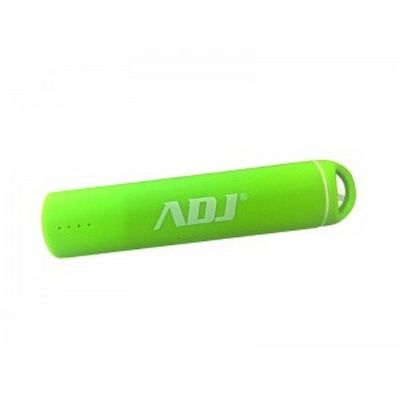 CARICABATTERIE ESTERNO POWER BANK 3200MAH ROLLY PER SMARTPHONE LIME ADJ