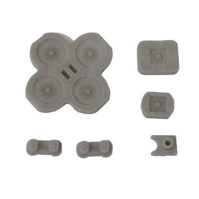 BUTTONS CONDUCTIVE D-PAD RUBBER 5-PIECE SET FOR NINTENDO SWITCH LEFT JOY-CON - N