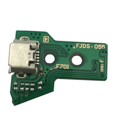 PCB BOARD 12 PIN JDS-055 WITH MICRO USB PORT FOR CONTROLLER DUAL SHOCK 4 PS4 V2