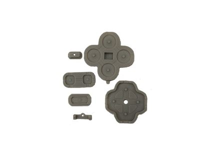 REPLACEMENT BUTTONS CONDUCTIVE D-PAD RUBBER FOR NEW 3DS XL 7-PIECE SET - N SHOP