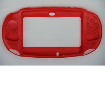 SILICON PROTECT CASE RED FOR PS VITA 2000 - N SHOP
