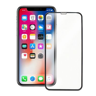 TEMPERED GLASS SCREEN PROTECTOR 5D BLACK FOR IPHONE XS MAX - N SHOP