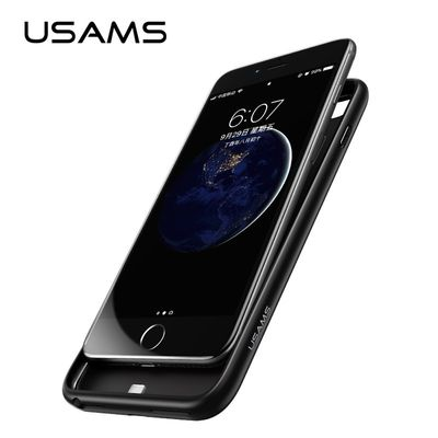 USAMS US-CD26 POWER CASE 4200MAH BLACK FOR IPHONE 6/7/8 PLUS - USAMS
