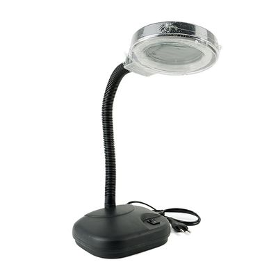 NEON LAMP WITH MAGNIFYING GLASS FOR WELDING, REPAIRS, LABORATORY - N SHOP