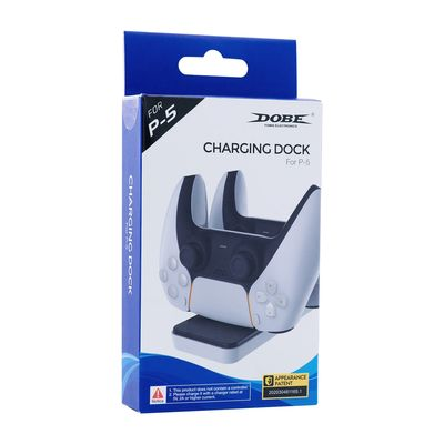 DOBE DUAL CONTROLLER CHARGING DOCK FOR PS5 CONTROLLER - DOBE