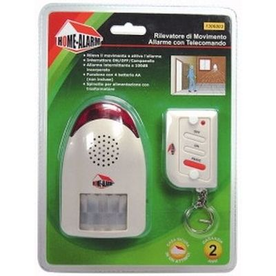 ALARM WITH MOTION SENSOR WITH REMOTE CONTROL - HOME ALARM