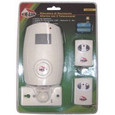 ALARM WITH MOTION SENSOR WITH 2 REMOTE CONTROL - HOME ALARM