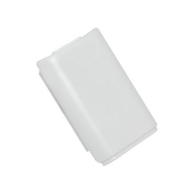 XBOX 360 BATTERY COVER CASE WIRELESS CONTROLLER WHITE - N SHOP