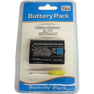 3DS AND 2DS RECHARGEABLE BATTERY PACK 2000MAH - N SHOP