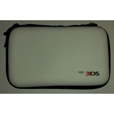 3DS AIRFOAM CARRY CASE WHITE - NETWORKSHOP