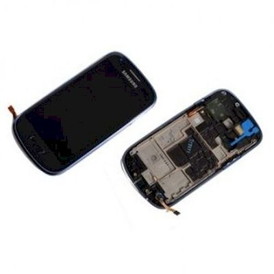 LCD TOUCH SCREEN E VETRO COMPLETO NERO SAMSUNG GALAXY S3 MINI GT-I8190