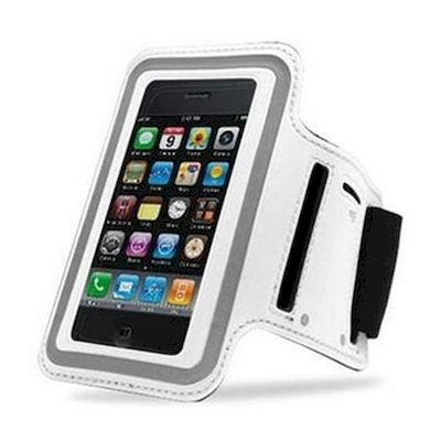 IPHONE 5 SPORT ARMBAND CASE WHITE - N SHOP
