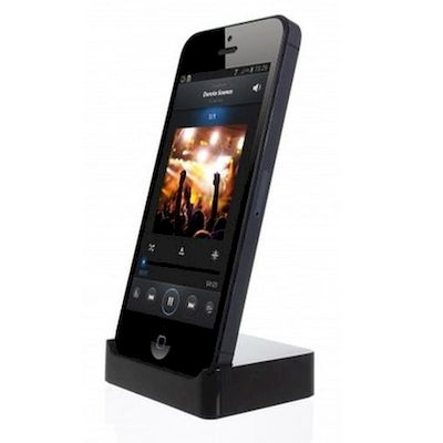 CHARGING DOCKING STATION KITSOUND NERA PER IPHONE 5
