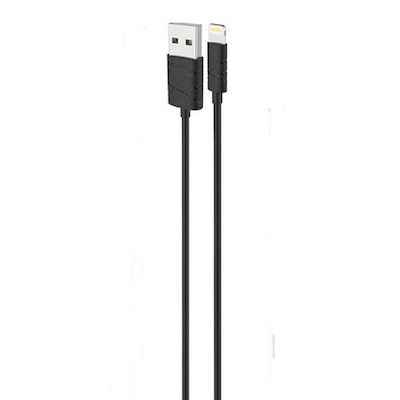 IPHONE 5 5S 5C 6 - IPOD TOUCH 5 - IPAD 4/MINI USB2.0  DATA CABLE 1MT U-GEE USAMS
