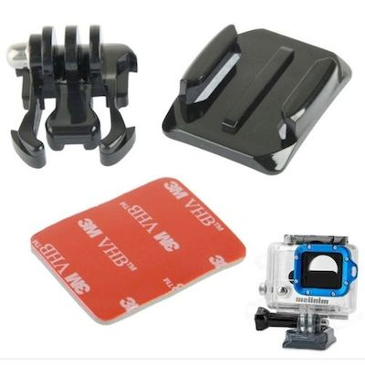 MINIIISW M-AF UNIVERSAL CURVED MOUNT STAND KIT FOR GOPRO HD 2/3/3+/4 CAMERA - DA