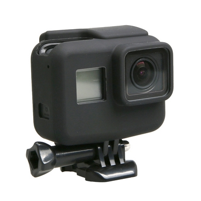 GOPRO HERO5 SILICONE BORDER FRAME MOUNT PROTECTIVE CASE COVER BLACK - NETWORKSHO