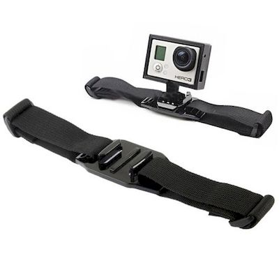 ST-04 VENTED HELMET STRAP MOUNT ADAPTER FOR GOPRO HD 2/3/3+/4 CAMERA - NETWORKSH