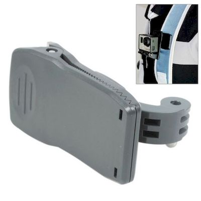 CLIP CON SUPPORTO HR147 PER CAMERA GOPRO HD HERO 2 / 3 / 3+ / 4