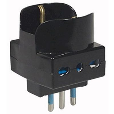 ITALIAN MULTIPLE POWER SUPPLY ADAPTOR WITH SHUKO SOCKET 28/1125