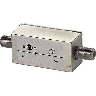amplificatore di linea 16 db sat e 10 db tv (9110)