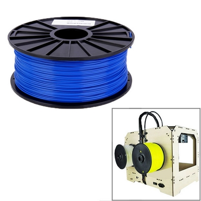 FILAMENTO IN PLA 1.75 MM PER STAMPANTI 3D PRINTER BOBINA BLU 1KG