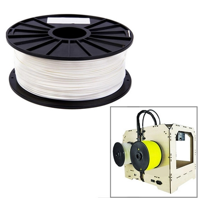 FILAMENTO IN PLA 1.75 MM PER STAMPANTI 3D PRINTER BOBINA BIANCA 1KG