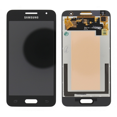 LCD TOUCH SCREEN E VETRO COMPLETO NERO PER SAMSUNG GALAXY CORE2 G355