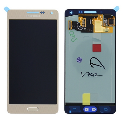 LCD TOUCH SCREEN E VETRO COMPLETO GOLD PER SAMSUNG GALAXY A5 A500F