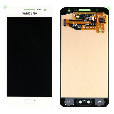 SAMSUNG A300F A3 2015 LCD AND TOUCH SCREEN COMPLETED WHITE - SAMSUNG