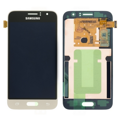 SCHERMO LCD TOUCH SCREEN E VETRO GOLD PER SAMSUNG GALAXY J120 J1 2016