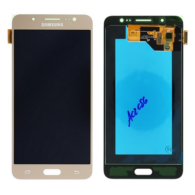 LCD TOUCH SCREEN E VETRO COMPLETO GOLD PER SAMSUNG GALAXY J5 2016 J510