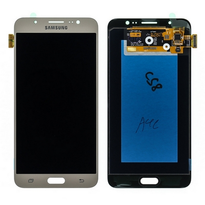 LCD TOUCH SCREEN E VETRO COMPLETO GOLD PER SAMSUNG GALAXY J7 J710 2016