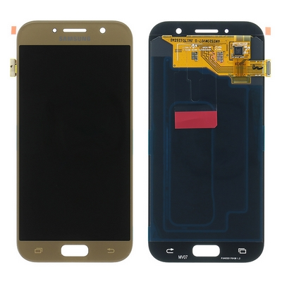 LCD TOUCH SCREEN E VETRO COMPLETO GOLD PER SAMSUNG GALAXY A5 2017 A520