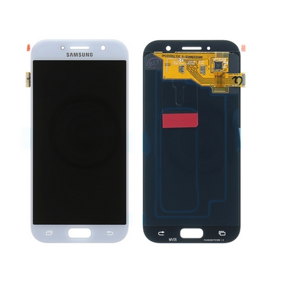LCD AND TOUCH SCREEN COMPLETED FOR SAMSUNG GALAXY A520 A5 17 BLUE/WHITE - SAMSUN