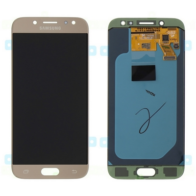 SCHERMO LCD TOUCH SCREEN E VETRO GOLD PER SAMSUNG GALAXY J530 J5 2017