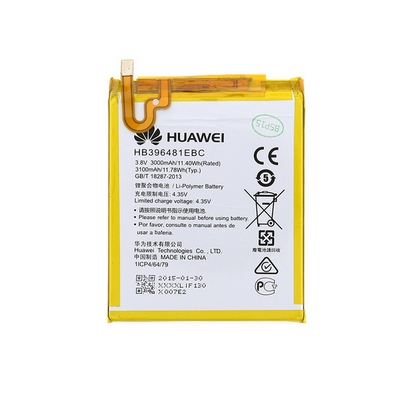 BATTERIA LITIO INTERNA HUAWEI HB396481EBC 3000MAH HONOR 6 LTE, 5X, Y6 II BULK