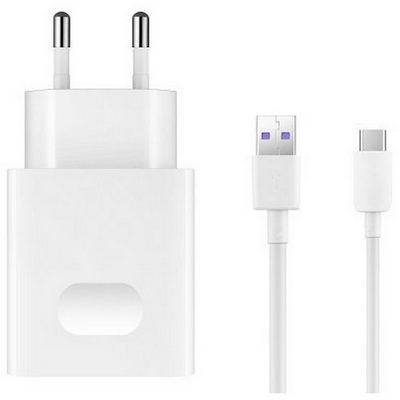 HUAWEI BATTERY CHARGER HUAWEI HW-050100E01W WHITE WITH MICRO USB CABLE BULK - HU