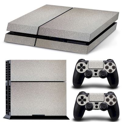 PATTERN SERIES DECALS SKIN VINYL STICKER SILVER FOR CONSOLE PS4 - N SHOP