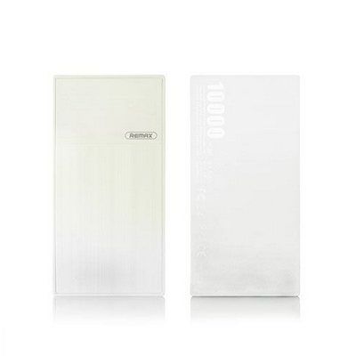 CARICABATTERIE PORTATILE POWER BANK REMAX THOWAY RPP-55 10000MAH BIANCO
