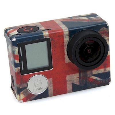 ADESIVO BANDIERA UK FLAG PER CAMERA GOPRO HERO 4