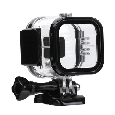 CASE PROTETTIVO WATERPROOF CLEAR E SUPPORTO PER CAMERA GOPRO HERO4 SESSION