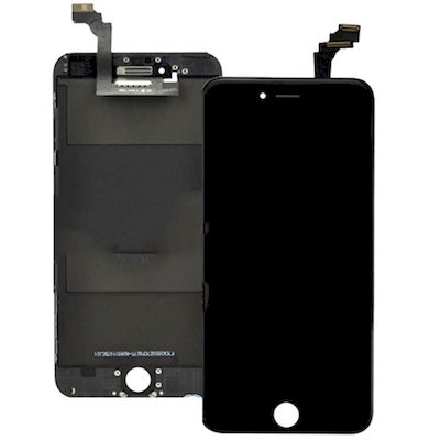 IPHONE 6 LCD SCREEN AND TOUCH SCREEN SEMI-ORIGINAL BLACK - N SHOP