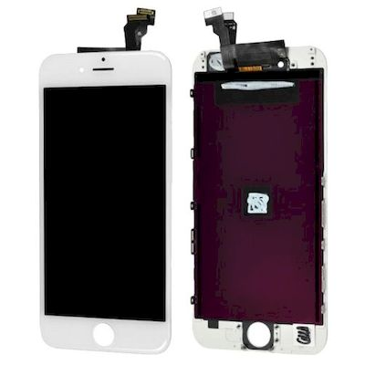 IPHONE 6 LCD SCREEN AND TOUCH SCREEN SEMI-ORIGINAL WHITE - N SHOP