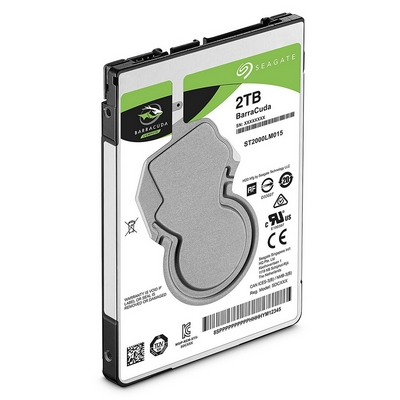 HARD DISK HDD 2.5 SLIM 2TB SATA SEAGATE ST2000LM015 PER NOTEBOOK / PS4
