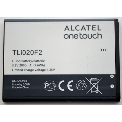 BATTERIA ALCATEL ONE TOUCH TLI020F2 2000MAH BULK