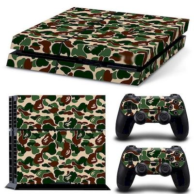 PATTERN SERIES DECALS SKIN VINYL STICKER CAMOUFLAGE FOR CONSOLE PS4 - N SHOP